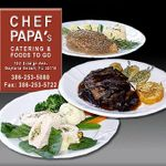 Chef Papa's Catering & Foods To Go profile image.