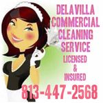 Delavilla Commercial Cleaning Service profile image.