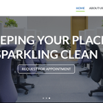 Robust cleaning services profile image.