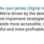 Ryan James Agency profile image.