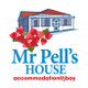 Mr. Pell's House Self-Catering Accommodation Jbay logo