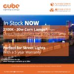 Cube lighting and design Ltd  profile image.