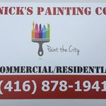 Nick's Painting Co. profile image.