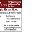 KW Bookkeeping & Income Tax Services - KW BITS profile image.