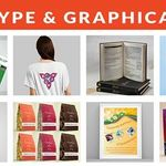 Type & Graphical profile image.