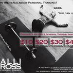 Alli Ross Fitness profile image.