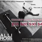 Alli Ross Fitness logo