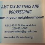 AMG Tax and Bookkeeping profile image.