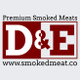 D&E's Smoked Meats, Kitchen, and Catering Services logo