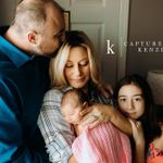 Captured By Kenzie Photography LLC profile image.