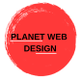Planet Web Design South Africa logo
