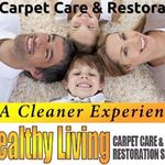 Healthy Living Carpet Care & Restoration Specialist profile image.