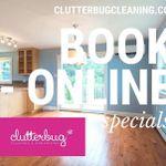 Clutterbug Cleaning & Organizing Inc. profile image.
