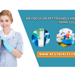Best Deal Plus Cleaning Services profile image.