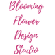 Blooming Flower Design Studio logo