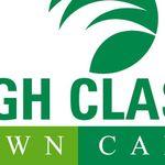 High Class Lawn Care profile image.