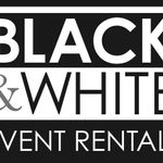 Black & White Party Rentals profile image.