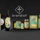 Brandish Design and Advertising Bureau logo