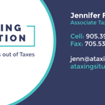 Jenn Fata - A Taxing Situation profile image.