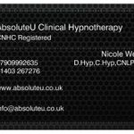 AbsoluteU Clinical Hypnotherapy profile image.