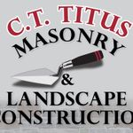 Titus Masonry and  and Design  profile image.