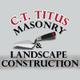 Titus Masonry and  and Design  logo