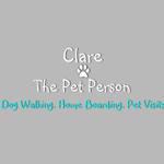 Clare The Pet Person profile image.