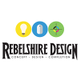 Rebelshire Design and Print logo