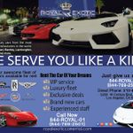 Royal Exotic Car Rental profile image.