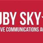 Ruby Sky Creative Communications Agency profile image.