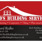 Red's Building Services profile image.