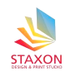 Staxon Design & Print Studio logo