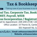 ARKH Tax & Bookkeeping profile image.