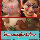 Hummingbird Love Face Painting