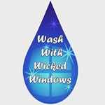Wicked Window and Gutter Cleaning profile image.