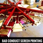 Bad Conduct Screen Printing and Designs profile image.