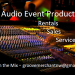 Groove Merchant NW Event Production profile image.
