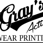 Gray's Active Wear Printing profile image.