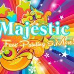Majestic Face Painting & Body Art profile image.