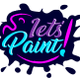 Let's Paint logo