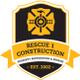 Rescue 1 Construction logo
