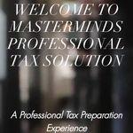 Masterminds Professional Tax Solution profile image.