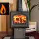 Danton fireplaces and stoves  logo