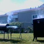 Black Mayberry Gourmet Custom Smokers profile image.