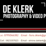 De Klerk Photography & Video Productions profile image.