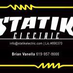 Statik Electric, INC. profile image.