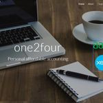 One2four Accounting ltd profile image.