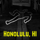 Honolulu, Hawaii - The Dinner Detective Murder Mystery Dinner Show logo