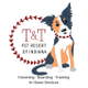 T & T Pet Resort logo