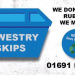Oswestry Skip Hire profile image.